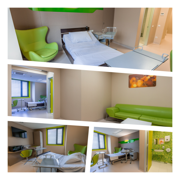 LUX Patient Room